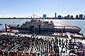 U.S. Navy Commissions Littoral Combat Ship USS Detroit (LCS 7) (30497340245).jpg