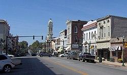 U. S. Route 460 in Georgetown, Kentucky