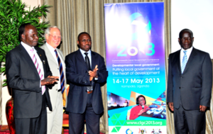 Uganda Local Governments Association - Image: ULGA at Commonwealth LG Conference