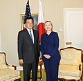 UNGA 2009- Secretary Clinton Meets With Japanese Foreign Minister (3953652611).jpg