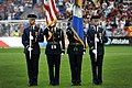 USAF Color Guard performs at MLS game (7830737626).jpg
