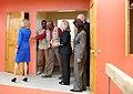 USAID-Haiti Engineer Nicoleau Shows Secretary Clinton the USAID-Funded Housing (8120196597).jpg