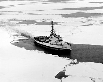 USCGC Northwind (WAGB-282) - USCGC Northwind during Operation Deep Freeze in 1956