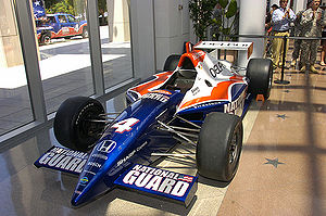 IndyCar Series - A 1997-spec G-Force IRL car. This car was repainted for promotional purposes in 2008