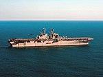 USS Iwo Jima (LHD) underway in the Atlantic Ocean in March 2014.JPG