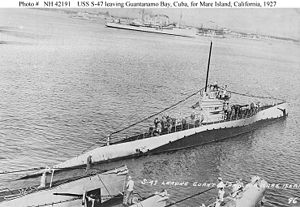 USS S-47 (SS-158) - Image: USS S 47 (SS 158)
