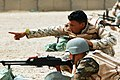 US Army 51817 BAGHDAD - Iraqi Soldiers, with the 6th IA Division, familiarize themselves with their targets and prepare for a PKC machine gun range at Combat Outpost 402, here, Sept. 28. In addition to marksmanship.jpg