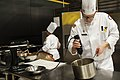 US Army Reserve Culinary Arts Team serves three-course meal to guest diners 160310-A-XN107-049.jpg