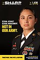 US Army SHARP Sexual Harassment and Sexual Assault Prevention Poster.jpg