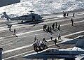 US Navy 040125-N-7871M-001 USS George Washington (CVN 73) provides medical assistance to Italian merchant vessel.jpg