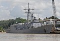 US Navy 100914-N-4971L-230 USS Klakring (FFG 42) is moored in Santo Domingo, Dominican Republic.jpg
