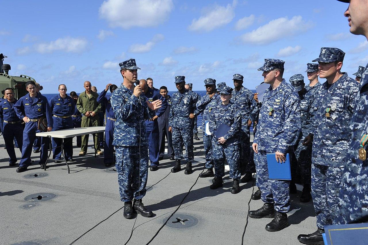 Navy officer dress uniforms