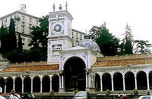 Piazza della Libertà, 16th. century Loggia di ...