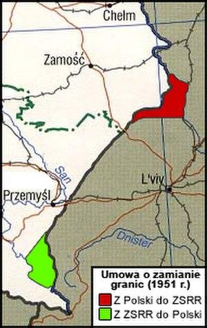 Development of the administrative divisions of Ukraine - Polish-Soviet border changes