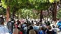 Un parque de Ciudad Lineal homenajea a periodistas asesinados en conflictos armados 02.jpg