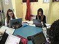 Una classe liceale al lavoro sui progetti Wikimedia 01.jpg