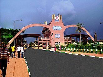 University of Benin (Nigeria) - University Main gate Ugbowo Campus