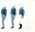 Uniformer for landkadettkorpset godkjent av Christian Frederik i 1814.tif