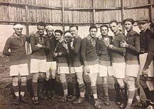 Una formazione della Cremonese nei primi anni 1920