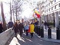 United Belgium Brussels demonstration 20071118 DMisson 00003 boulevard du Regent near American embassy.jpg