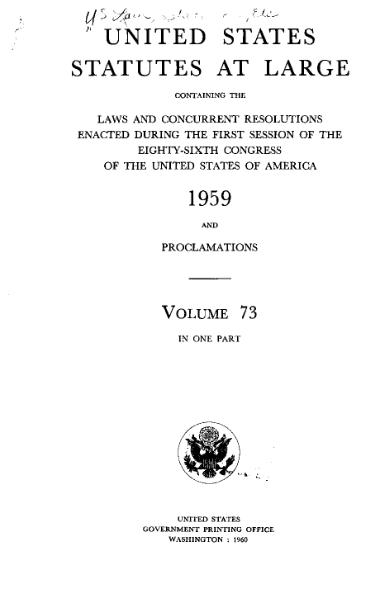 File:United States Statutes at Large Volume 73.djvu