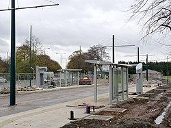 University Boulevard tram stop (geograph 4245456).jpg