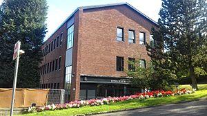 University of Glasgow School of Veterinary Medicine - Image: University of Glasgow School of Veterinary Medicine, main building (front)