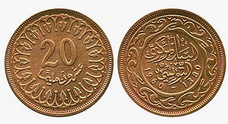Dinar Tunisia