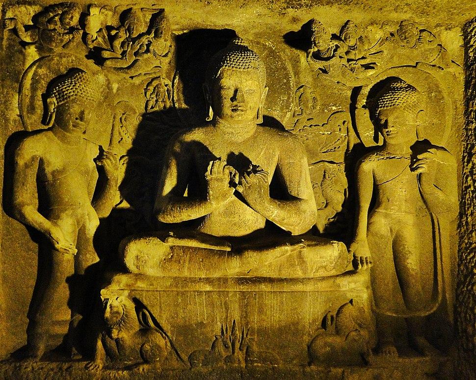 Upper Floor, Cave No. 6, Ajanta Caves - 1