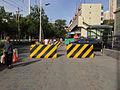 Urumqi Street Concrete Barricade.jpg