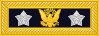 General of the Army (United States) - General of the Army shoulder strap insignia, from 1872 to 1888. This was used by William T. Sherman only.