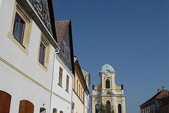 Úštěk - Old houses in Úštěk