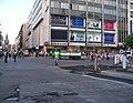 Václavské náměstí a Jindřišská, rekonstrukce tramvajové trati.jpg