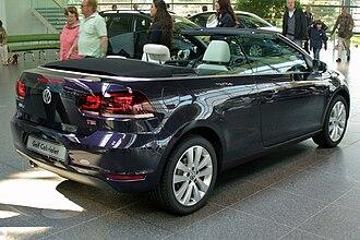 Volkswagen Golf Mk6 - Cabriolet