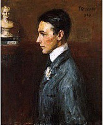 Van Wyck Brooks - Portrait of Van Wyck Brooks by John Butler Yeats, 1909