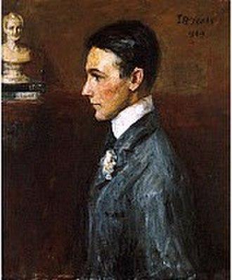 Van Wyck Brooks - Portrait of Van Wyck Brooks by John Butler Yeats, 1909