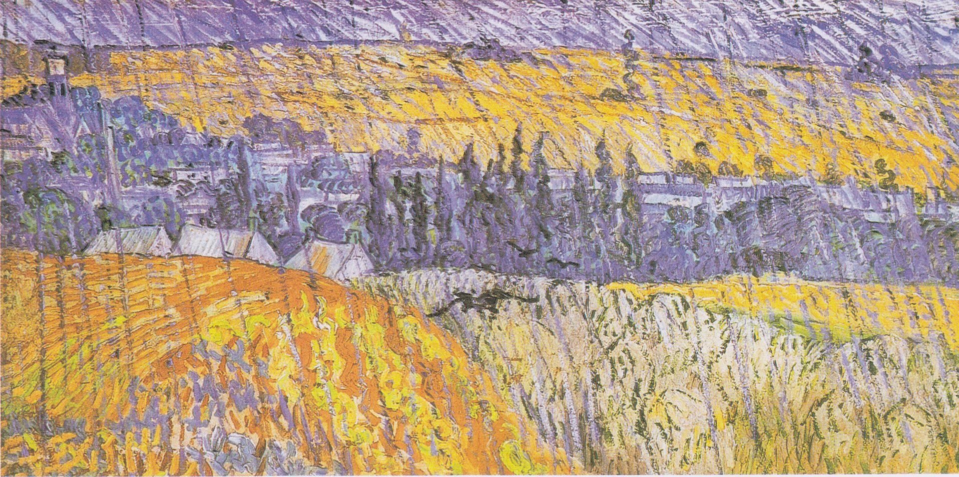 LA ZAD EN L'ÉTROIT TERRITOIRE - L'OUTRE-RÉEL IV.2 1920px-Van_Gogh_-_Landschaft_bei_Auvers_im_Regen