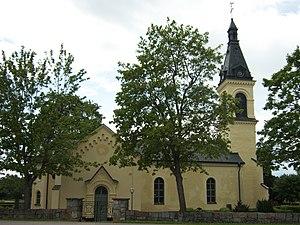 Vänge Church, Uppland - Vänge Church, external view