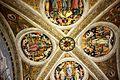 Vatikan, Museen, Stanzen des Raffael, der Saal dell'Incendio di Borgo, Bild 3.JPG