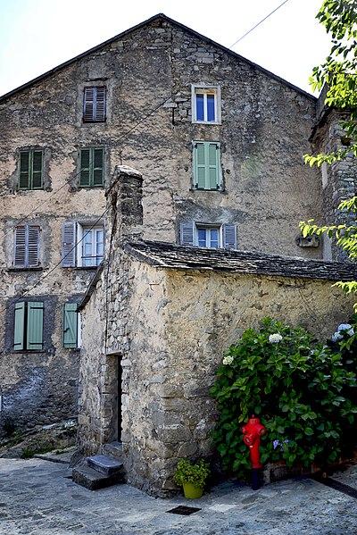 Venaco, Centre Corse - Chapelle Saint-Roch à Campo Vecchio