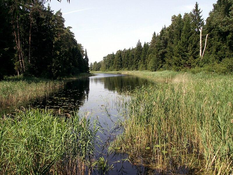 Canal Venta-Dubysa (1828-1831), Lithuania