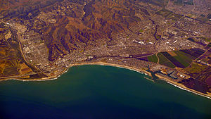 Ventura, California - Ventura, California, viewed from the southwest
