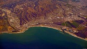 Ventura, California - Ventura, California, viewed from the southwest