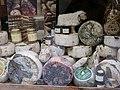 Vetrina di formaggio di Pienza e altri prodotti tipi.jpg