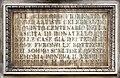 Via dei servi 2-4, palazzo naldini del riccio, busto e lapide a donatello, di emilio mancini, 1886, 03.jpg