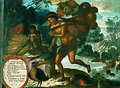 Vicente Albán - Yndio yumbo de Maynas con su carga con flora y frutos del país.jpg