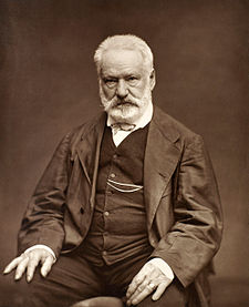 Woodburytype of Victor Hugo by Étienne Carjat, 1876