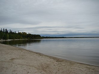 Rural Municipality of Victoria Beach - Image: Victoria Beach in Lake Winnipeg Manitoba Canada (4)