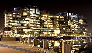 English: National Australia Bank, Docklands, M...