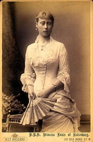Princess Victoria of Hesse and by Rhine